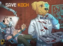 Save Koch Strategy Game Title