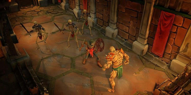Gloomhaven Tactical-RPG Early Access ss1