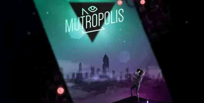 Mutropolis Sci-Fi Archaeological Adventure Title