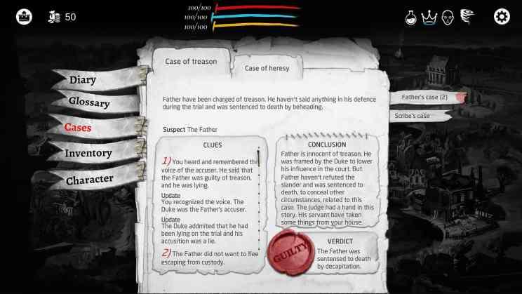 Executioner Dark RPG ss2