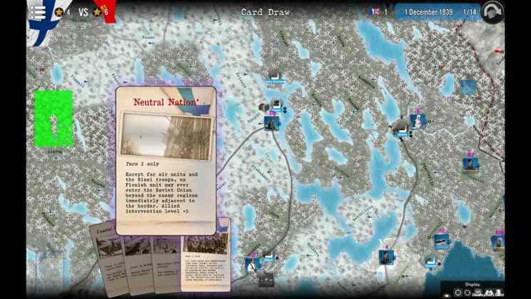 Winter War Strategy Game ss1