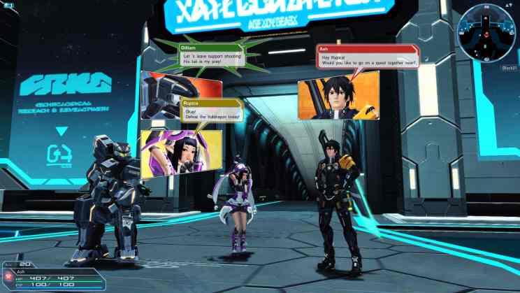 Phantasy Star Online 2 MMORPG ss2