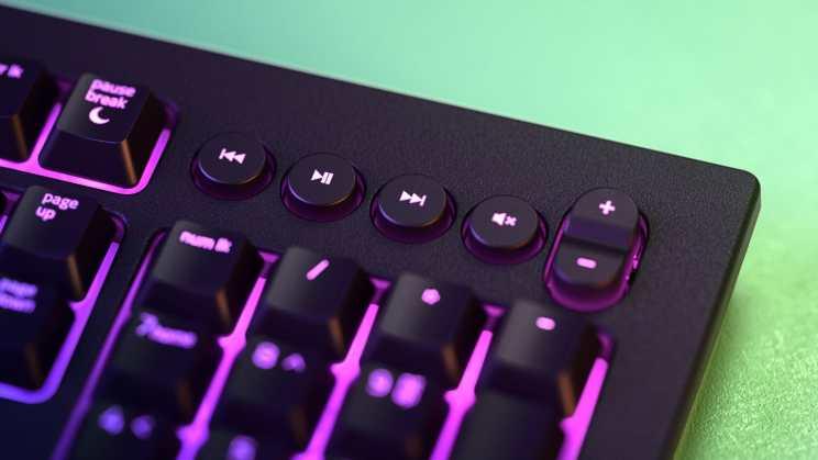 Razer Cynosa gaming keyboard media keys
