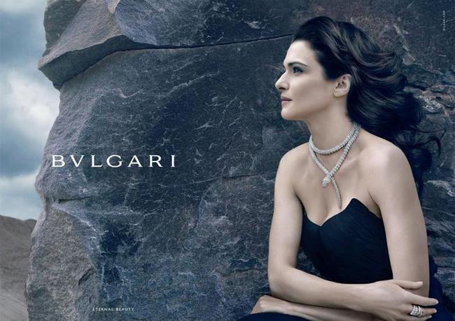 Nouvelle campagne Bulgari Joaillerie Hiver 2012/2013 – Rachel Weisz