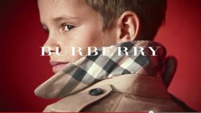 Romeo Beckham nouvelle égérie Burberry