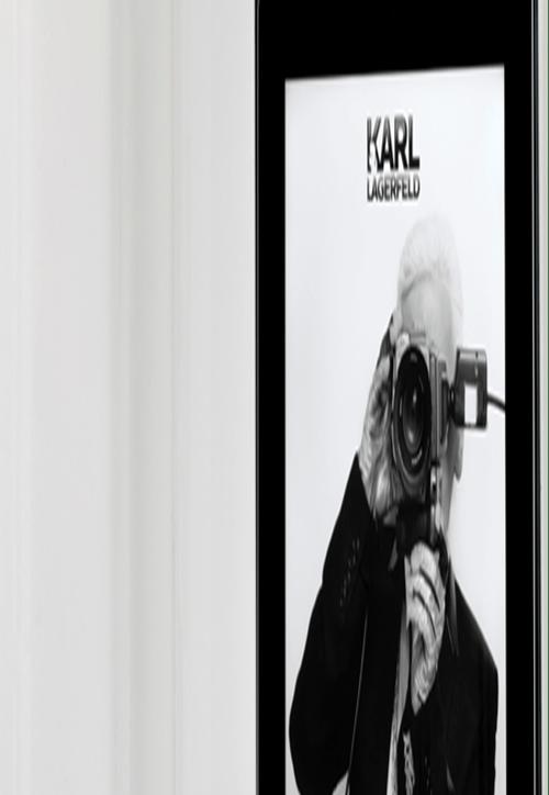 Nouveau concept store digital signé Karl Lagerfeld