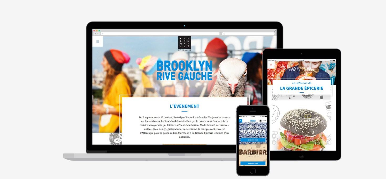 Le site Bon Marché Rive Gauche met à l'honneur l'expo Brooklyn jusqu'au 17 octobre