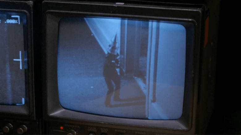 Video monitor footage from Puppet Master II