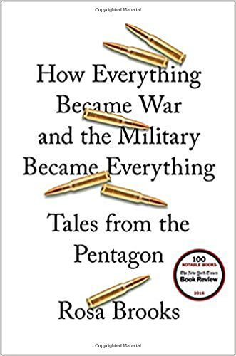 How Everything Became War and the Military Became Everything book cover