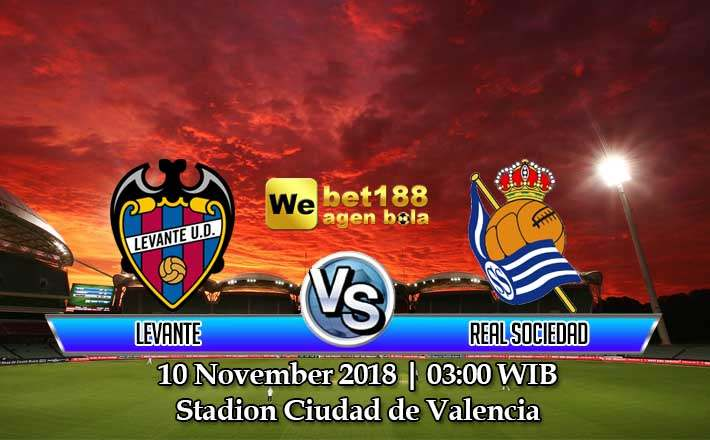 Prediksi Bola Levante vs Real Sociedad 10 November 2018