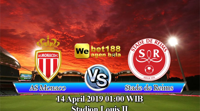 Prediksi Bola AS Monaco vs Stade de Reims 14 April 2019