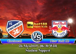 Prediksi Bola Cincinnati vs New York RB 26 Mei 2019