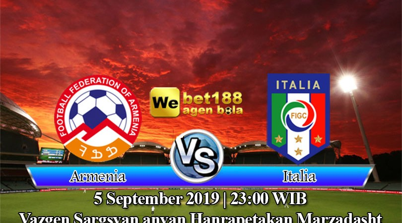Prediksi Bola Armenia Vs Italia 5 September 2019