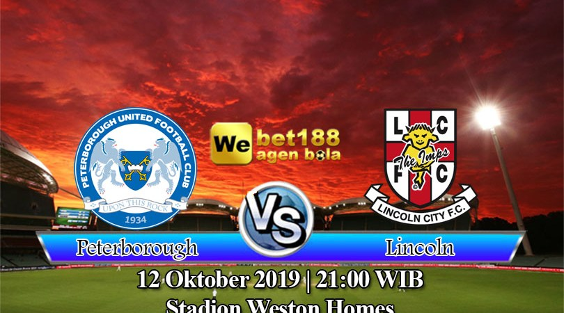 Prediksi Bola Peterborough United vs Lincoln City 12 Oktober 2019