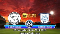 Prediksi Bola Derby County Vs Preston North End 23 November 2019