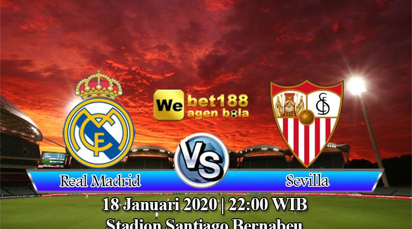 Prediksi Bola Real Madrid vs Sevilla 18 Januari 2020