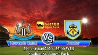 Prediksi Bola Newcastle United Vs Burnley 29 Februari 2020