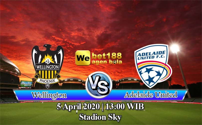 Prediksi Bola Wellington Phoenix Vs Adelaide United 5 April 2020