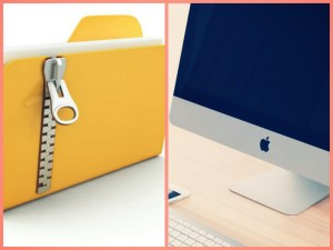 Unzip files using Mac