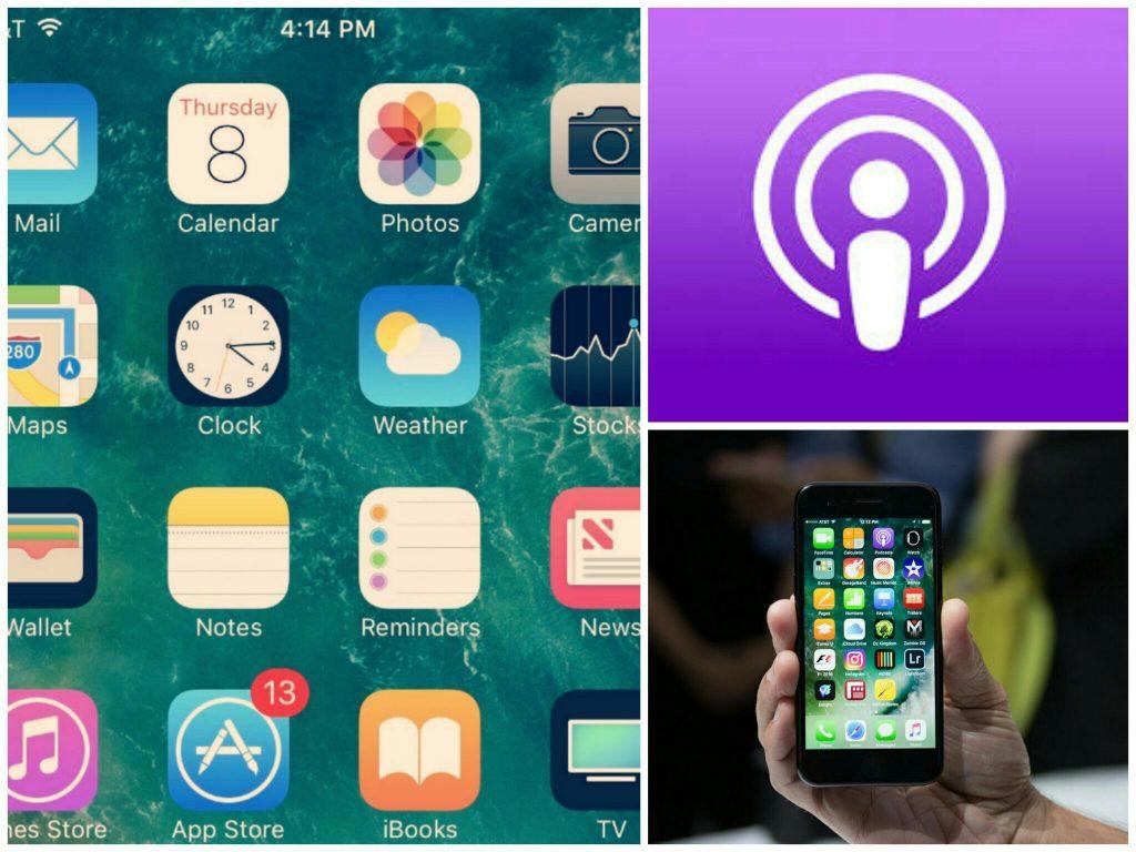IOS podcast app