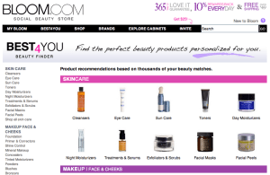 Bloom.com Best4You beauty recommendations