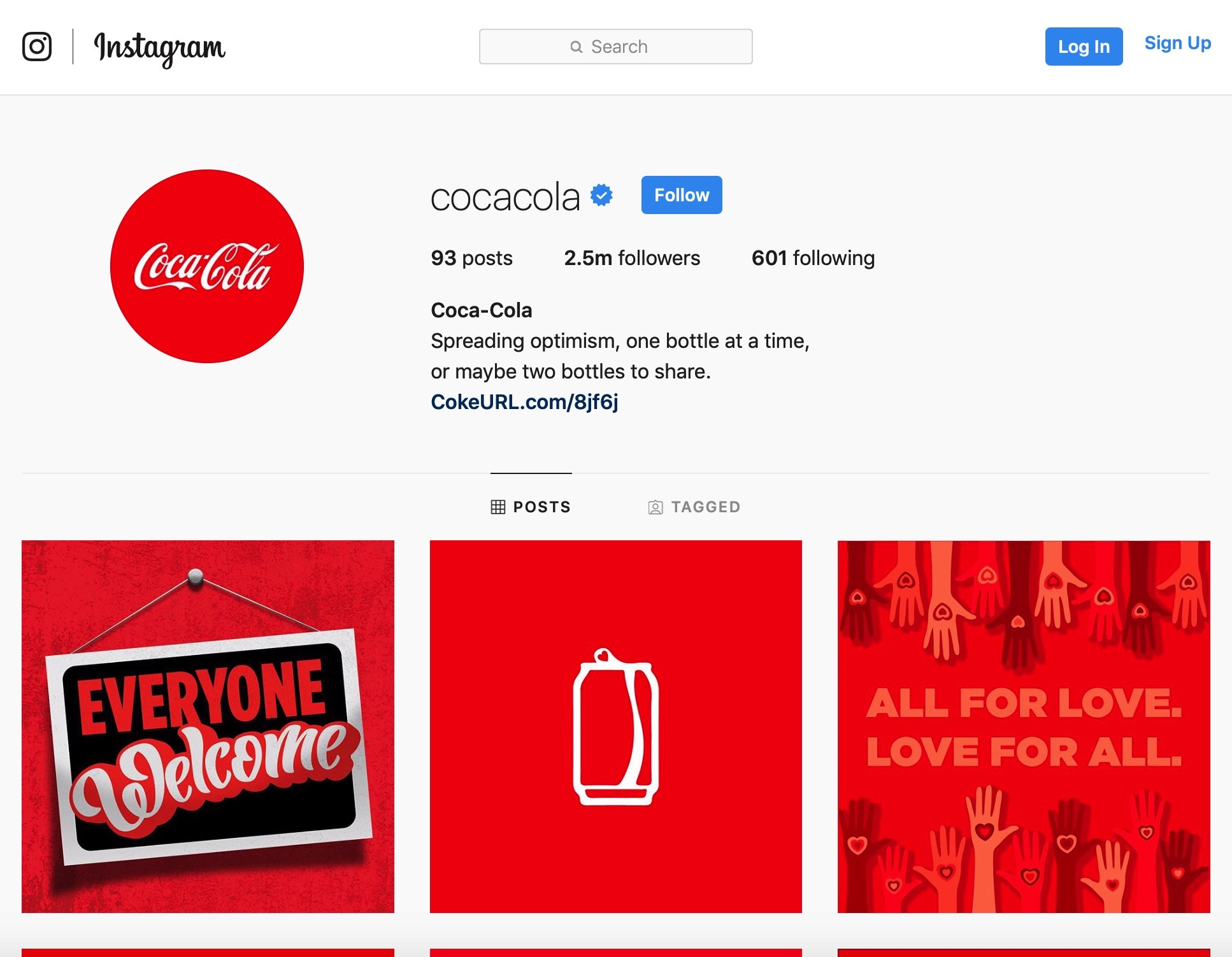 Image result for coca cola instagram page