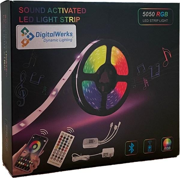 smart led strip lights,Tuya APP Compatible,Kitchen - 195893280315 - Smart led strip lights rgb WiFi