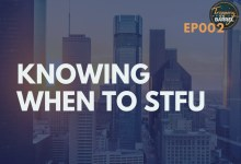 Photo of Knowing When to STFU | Tripping Over the Barrel Podcast