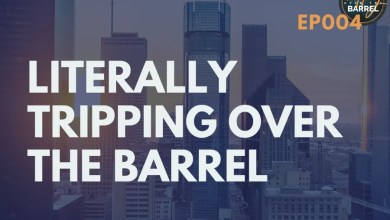 Photo of Literally Tripping Over the Barrel | Tripping Over the Barrel Podcast