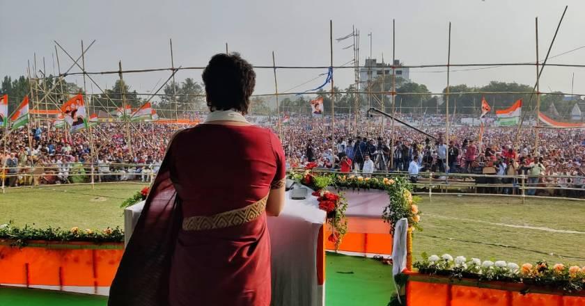 Watch Live: Priyanka Gandhi addresses a Corner Meeting in Kollam