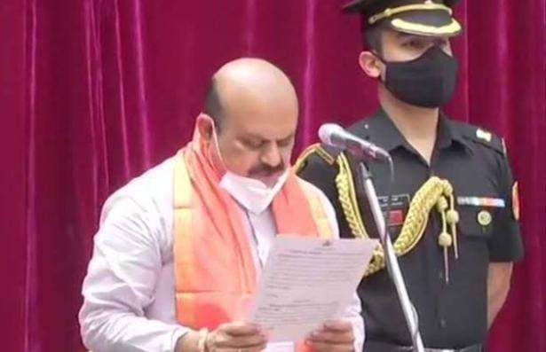 Karnataka: Basavaraj Bommai takes oath as Karnataka CM