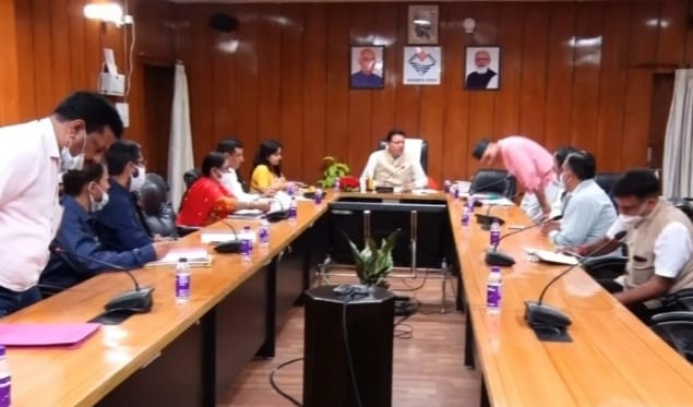 CM Pushkar Singh Dhami's holds meetings with teachers associations