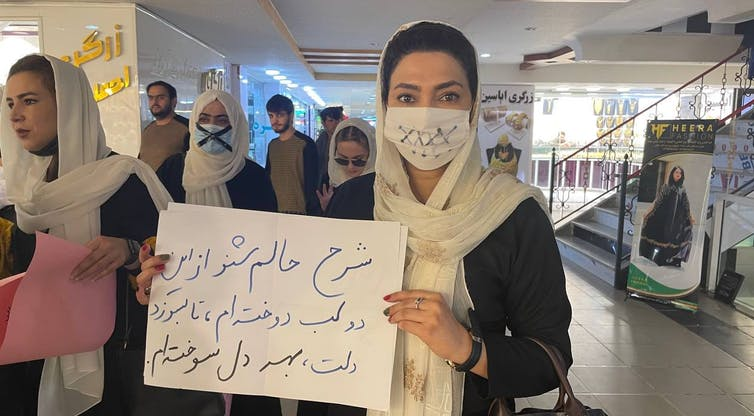 Afghan women have a long history of taking leadership and fighting for theirrights