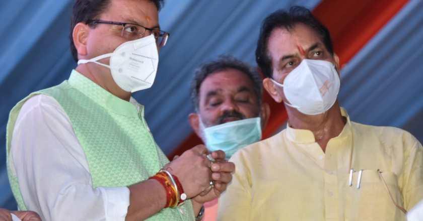 उत्तराखंड मुख्यमंत्री पुष्कर सिंह धामी ने पीएम मोदी के आगमन से पहले लिया जायजा, एम्स पहुंचकर किया निरीक्षण