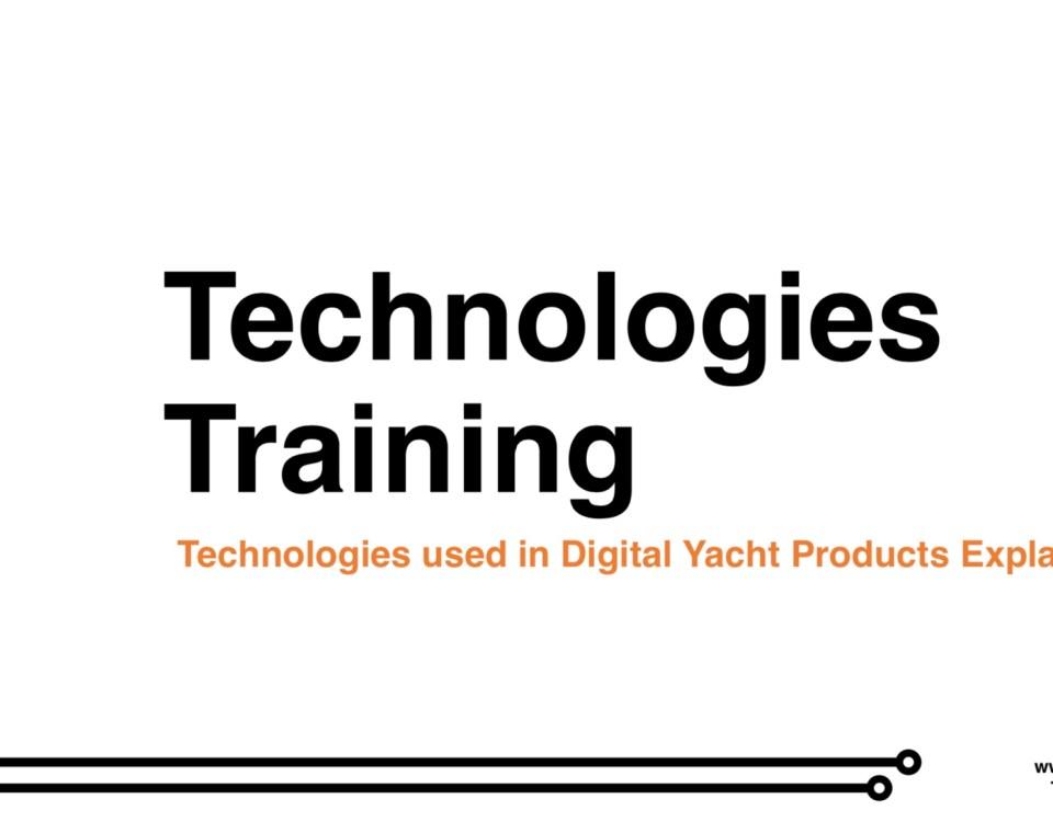 Présentation des technologies utilisées par Digital Yacht