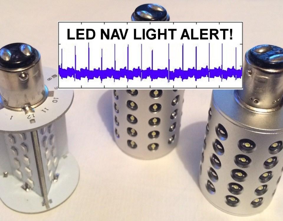 Ampoule LED qui créé de l'interférence