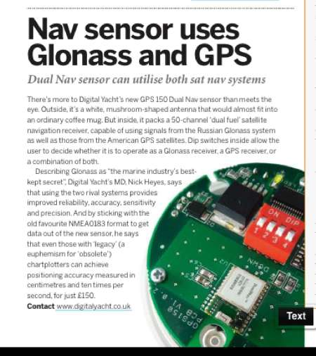 GPS150 MBY ARTICLE