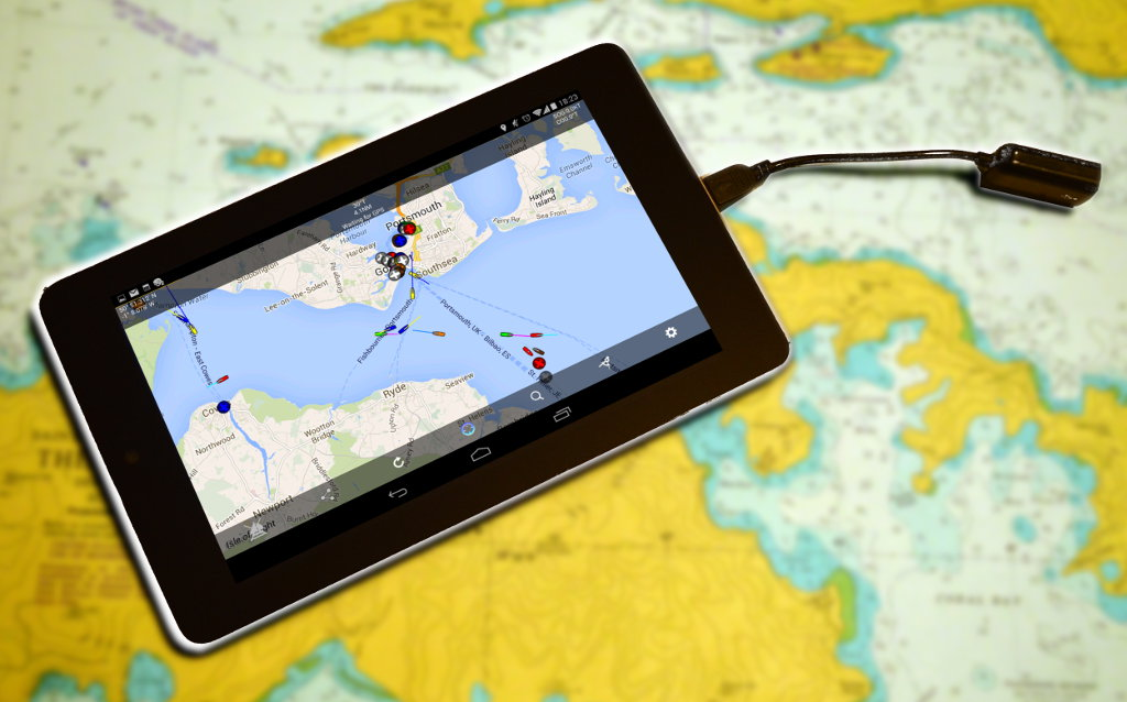 marine gps app for android without internet