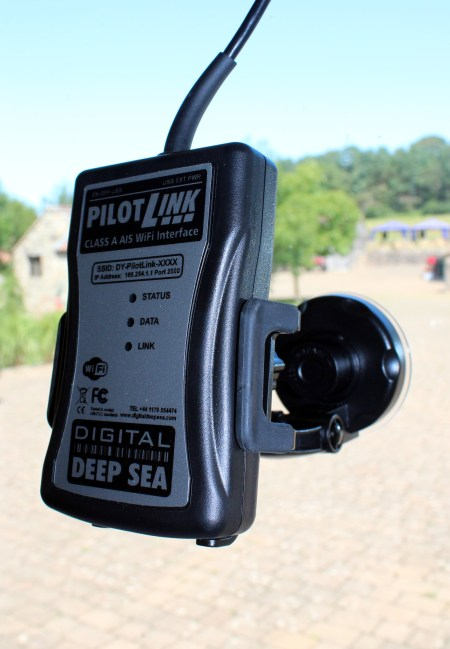 PilotLink on Car Mount