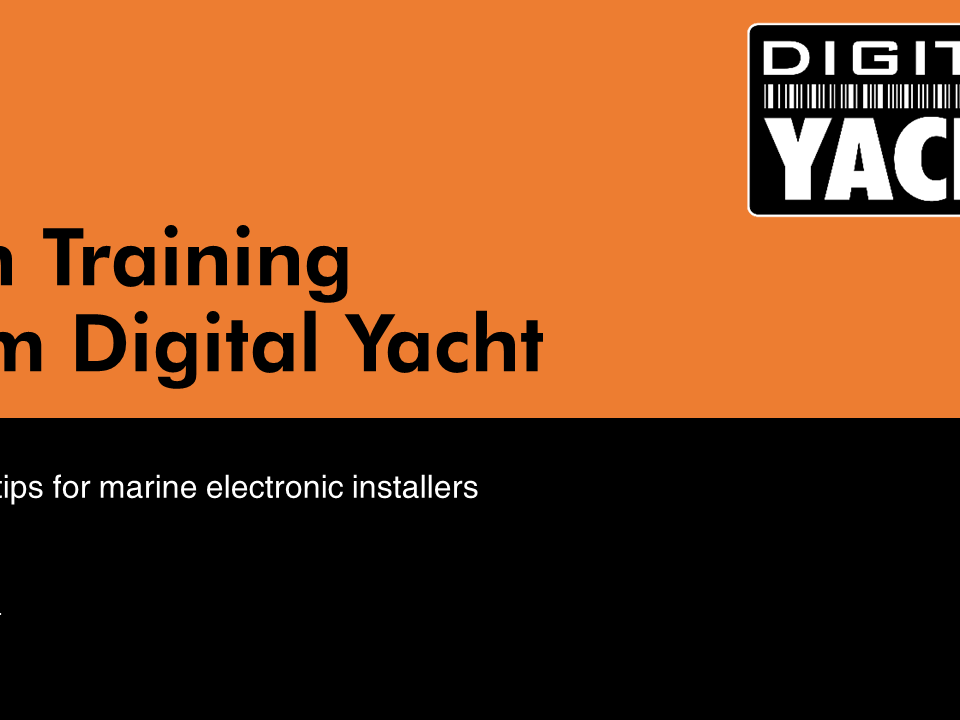 Digital Yacht Tech Training - A great resource