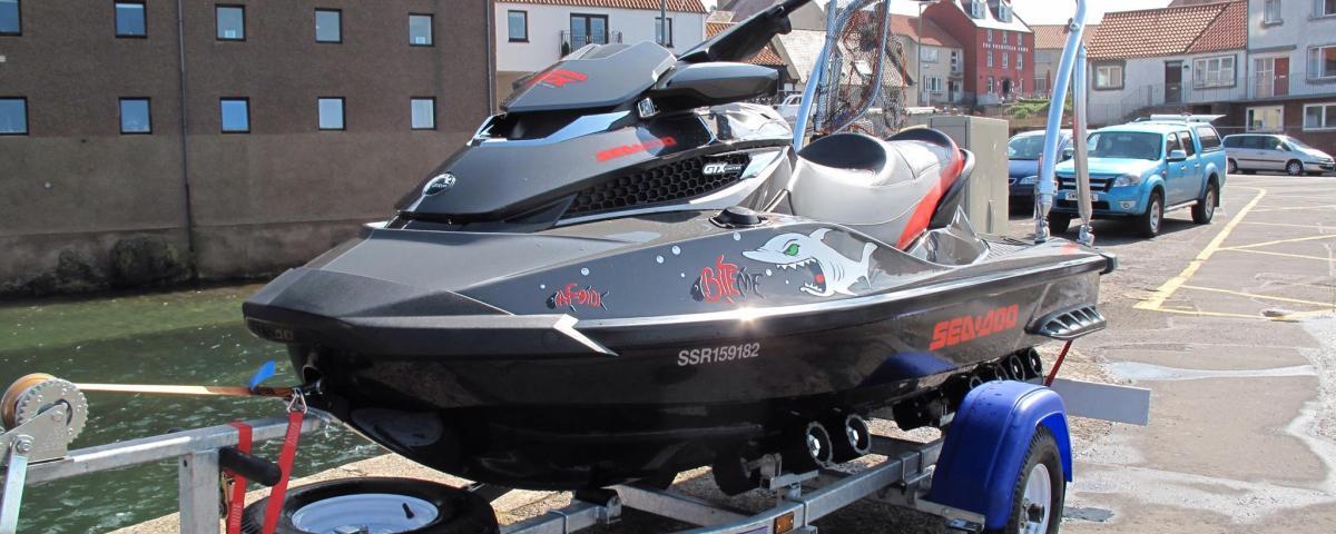 AIS Transponder on a Jet Ski