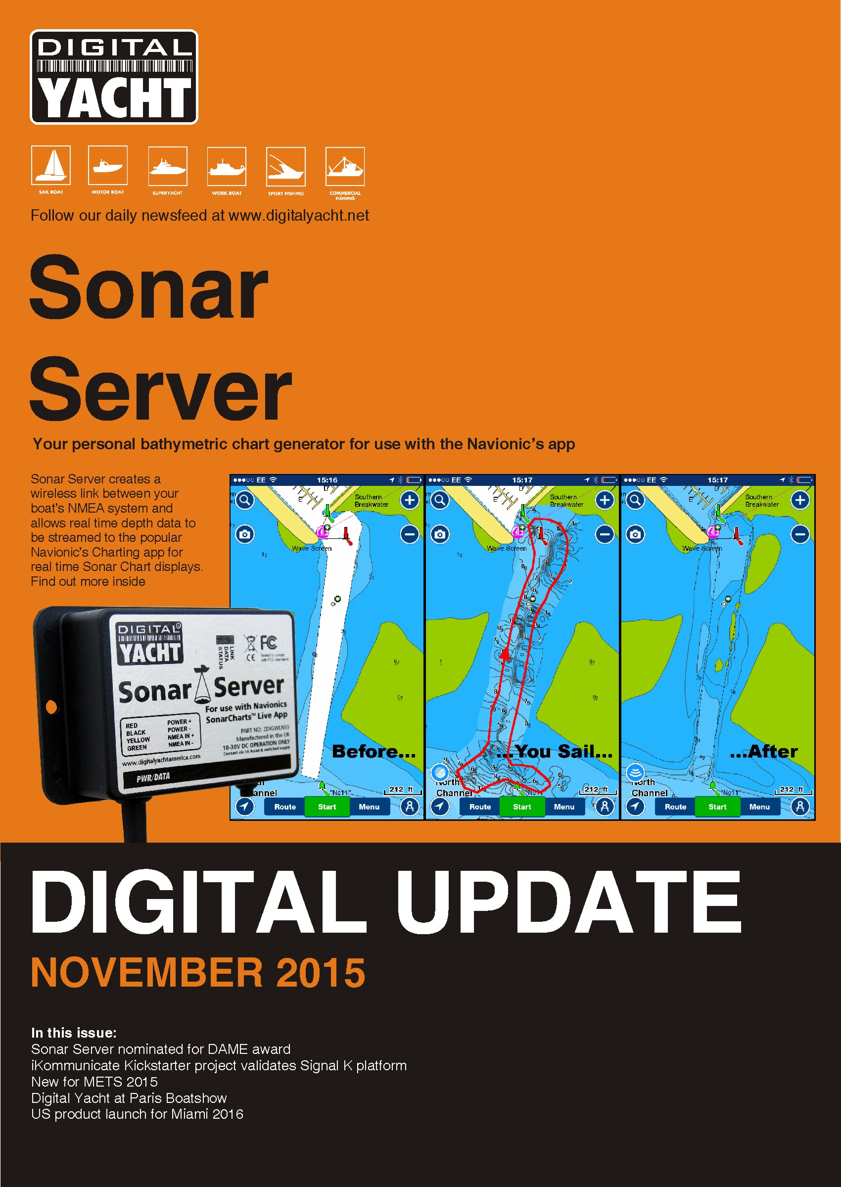 Sonar Subsea System Wiring Diagram Vehicle Diagrams Digital Update November 2015 Now Out At