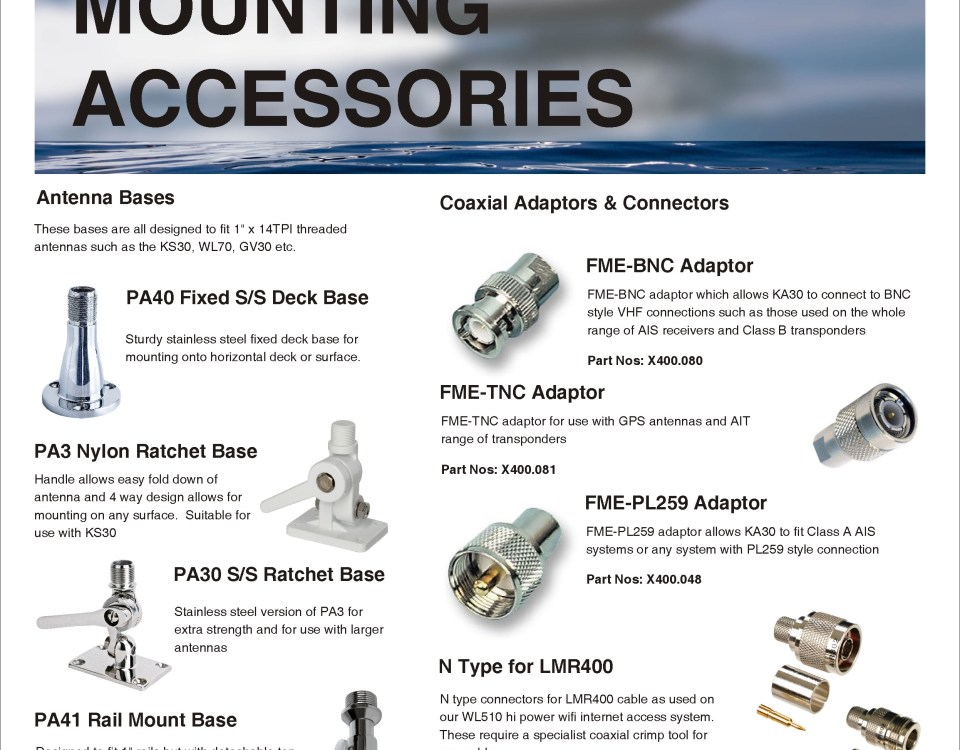 AIS Antennas & Accessories