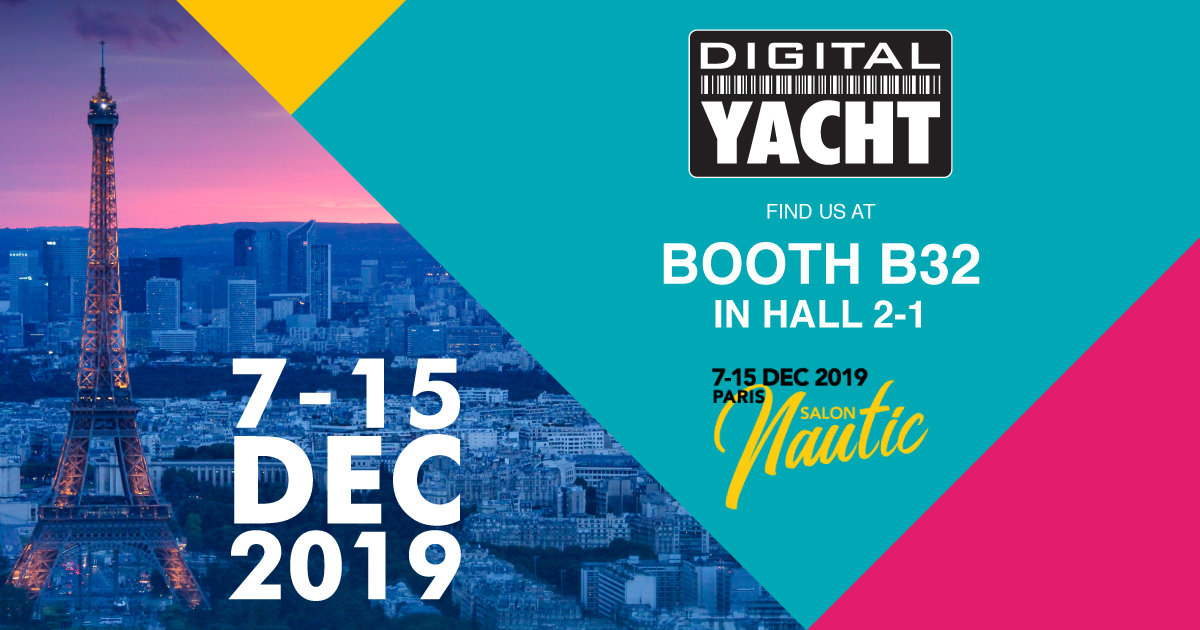 Digital Yacht at Paris Boat Show