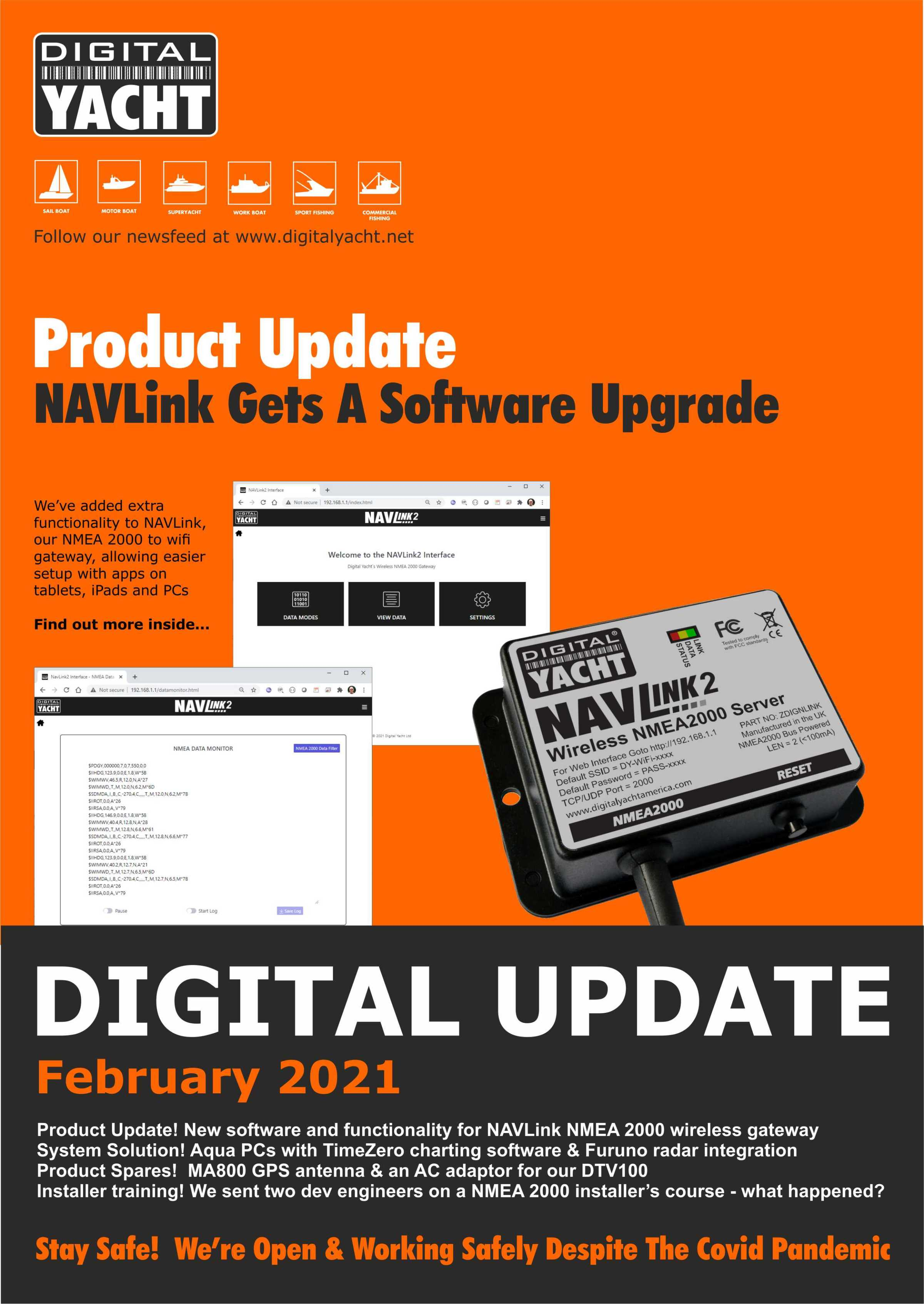 Digital Update February 2021 Now Available for Download