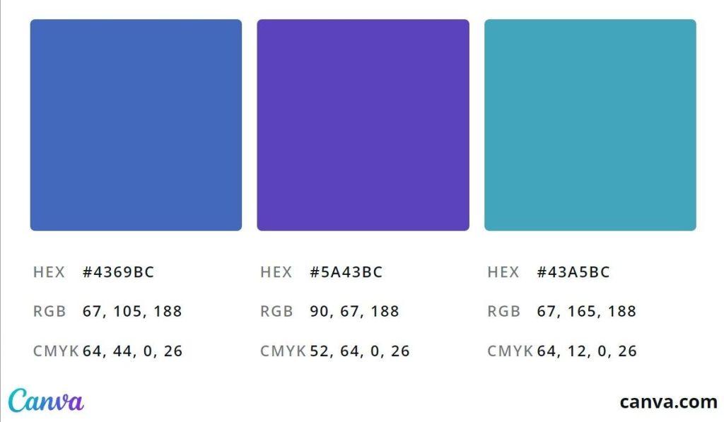 HEX、RGB、CMYK顏色色碼