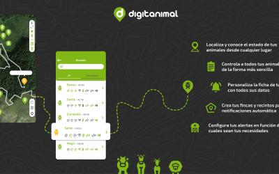 Digitanimal presenta su nueva APP para localizar y controlar el ganado en extensivo mediante GPS