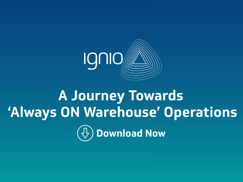 Case Study- A Journey Towards 'Always ON Warehouse' Operations