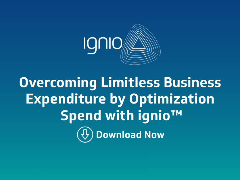 Case Study- Overcoming Limitless Business Expenditure by Optimization Spend with ignio™