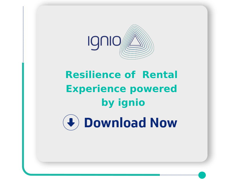 Resilience of Rental Experience powered by ignio